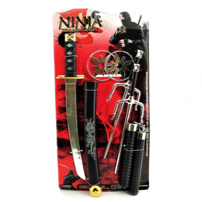 Оружие для ниндзя игрушки